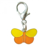 Адресник Triol Оранжевая бабочка 40мм