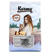 Сухой корм Karmy для котят породы Мейн-кун в возрасте до 1 года, беременных и ко...