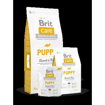 Сухой корм Brit Care Dog puppy для щенков всех пород ягненок