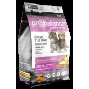 Сухой корм ProBalance для котят 1`st Diet Kitten