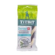 Лакомство TiTBiT Дентал + Косичка с мясом кролика для собак...