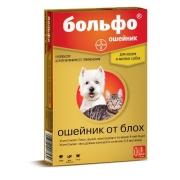 Ошейник Bayer Больфо 38см от блох для кошек и мелких собак (действие 4 месяца)...