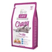 Сухой корм Brit Care Cat Crazy Kitten для котят, беременных и кормящих кошек ...