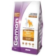 Gemon Dog Medium корм для взрослых собак средних пород с курицей ...