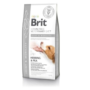Сухой корм Brit Veterinary Diet Dog Grain Free Joint & Mobility беззерновая диета при заболеваниях суставов и опорно-двигательного аппарата для собак