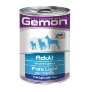 Gemon Dog Light консервы для собак облегченный паштет тунец 400г...