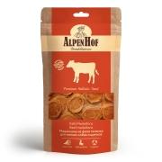 Лакомство AlpenHof Медальоны из филе теленка для мелких собак и щенков, 50г...