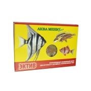 """Корм Аква меню """"Эктив"""" хлопья для крупных и активных аквариумных рыб 1..."""