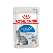 Влажный корм Royal Canin Indoor Sterilized (в паштете) для кошек 85гр...