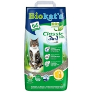 Комкующийся наполнитель BIOKAT'S CLASSIC FRESH c ароматизатором...