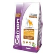 Gemon Dog Medium корм для щенков средних пород курица с рисом ...