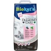 Комкующийся наполнитель BIOKAT'S Diamond Care FRESH с активированным углем с аро...