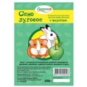 Сено для грызунов Лаурон луговое прессованное с фруктами 500г...