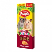 Лакомство Happy Jungle мед и орехи для мелких грызунов...
