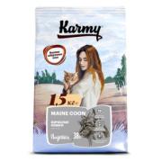 Сухой корм Karmy Maine Coon для взрослых кошек старше 1 года породы мейкун, с ин...