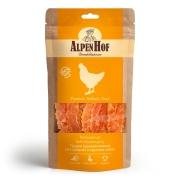 Лакомство AlpenHof Грудка куриная нежная для средних и крупных собак, 80 гр...
