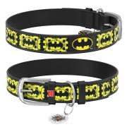 """Ошейник Collar WAUDOG Design DC Comics """"Бэтмен 4"""" Черный..."""