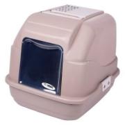 Био-туалет IMAC EASY CAT для кошек 50х40х40hсм, серо-бежевый...