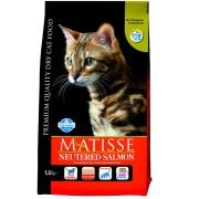 Сухой корм Farmina Matisse с лососем для стерилизованных кошек и кастрированных ...