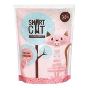 Силикагелевый наполнитель Smart Cat с ароматом детской присыпки...