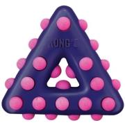 Игрушка KONG для собак Dotz треугольник