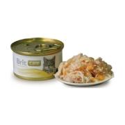 Консервы Brit Care для кошек куриная грудка и сыр (80 гр)...