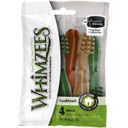 Лакомства WHIMZEES Зубная щетка для собак S 9 см 4 шт в блистере...