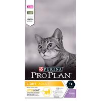 Сухой корм Pro Plan для кошек (снижение веса) индейка+рис...