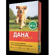 Apicenna: цветной ошейник Дана Ультра инсектоакарицидный для собак 60см, зеленый...