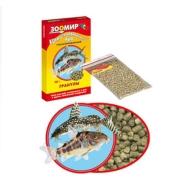 """Корм Зоомир """"Гранулы"""" для рыб (коробка) 40 гр (упаковка 10шт)..."""