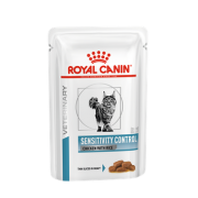 Влажный корм Royal Canin Sensitivity Control Chicken with Rice (в соусе). 85гр...