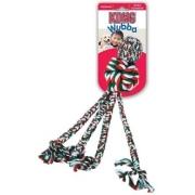 Игрушка KONG Holiday для собак Wubba Weave из каната большая 38 см...