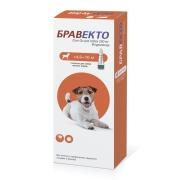 Бравекто Spot on для собак 250 мг (4,5-10кг)