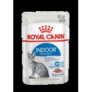 Влажный корм Royal Canin Indoor Sterilized (в желе) для кошек 85гр...