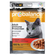 ProBalance Immuno Protection с говядиной в соусе, пауч 85 гр...