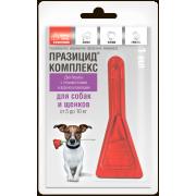 Apicenna: Празицид - комплекс (1пип)  от блох и глистов для собак и щенков от 5 ...