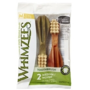 Лакомства WHIMZEES Зубная щетка для собак М 11 см 2 шт в блистере...