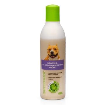 Шампунь Фитоэлита для короткошерстных собак, 220мл
