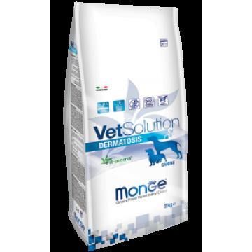 Сухой корм Monge VetSolution Dog Dermatosis для собак с заболеваниями кожи