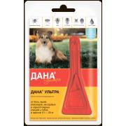 Apicenna: Дана Ультра (1 пип) капли от блох 1,6мл для собак и щенков 10-20 кг ...