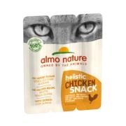 "Колбаски Almo Nature ""Курица"" для кошек, 3шт."