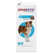 Препарат Intervet Бравекто от блох и клещей для собак 20-40кг 1таб. (12 недель)...