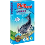 "Корм Зоомир ""Рыбята Сомик"" гранулы для рыб + сюрприз..."
