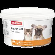 """Витамины Beaphar """"Junior Cal"""" минеральная смесь для котят и щенков 200..."""