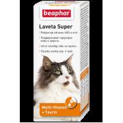 """Витамины Beaphar """"Laveta super"""" для кошек при выпадении шерсти (50мл)..."""
