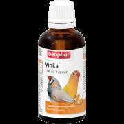 """Витамины Beaphar """"Vinka"""" для птиц укрепление иммунитета (50мл)..."""