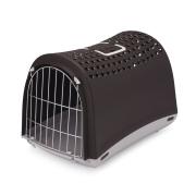 Переноска IMAC LINUS CABRIO для кошек и собак 50х32х34,5см, антрацит...