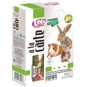 Лакомство LOLO A la carte для грызунов и кроликов палочки mix 60гр...