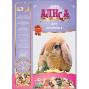 Корм Алиса для кроликов 450гр