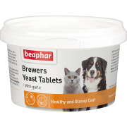 """Витамины Beaphar """"Brewers"""" с пивными дрожжами и чесноком для собак и к..."""
